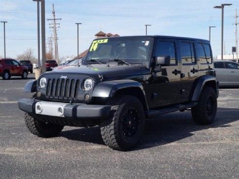 2014 Jeep Wrangler Unlimited Sahara Black, Hutchinson, KS